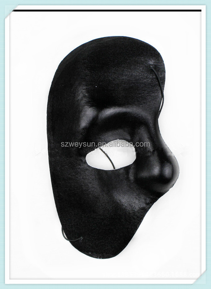 Mysterious Half Face Mask The Phantom Of The Opera Theme Masks For Personal House Party 100% Original