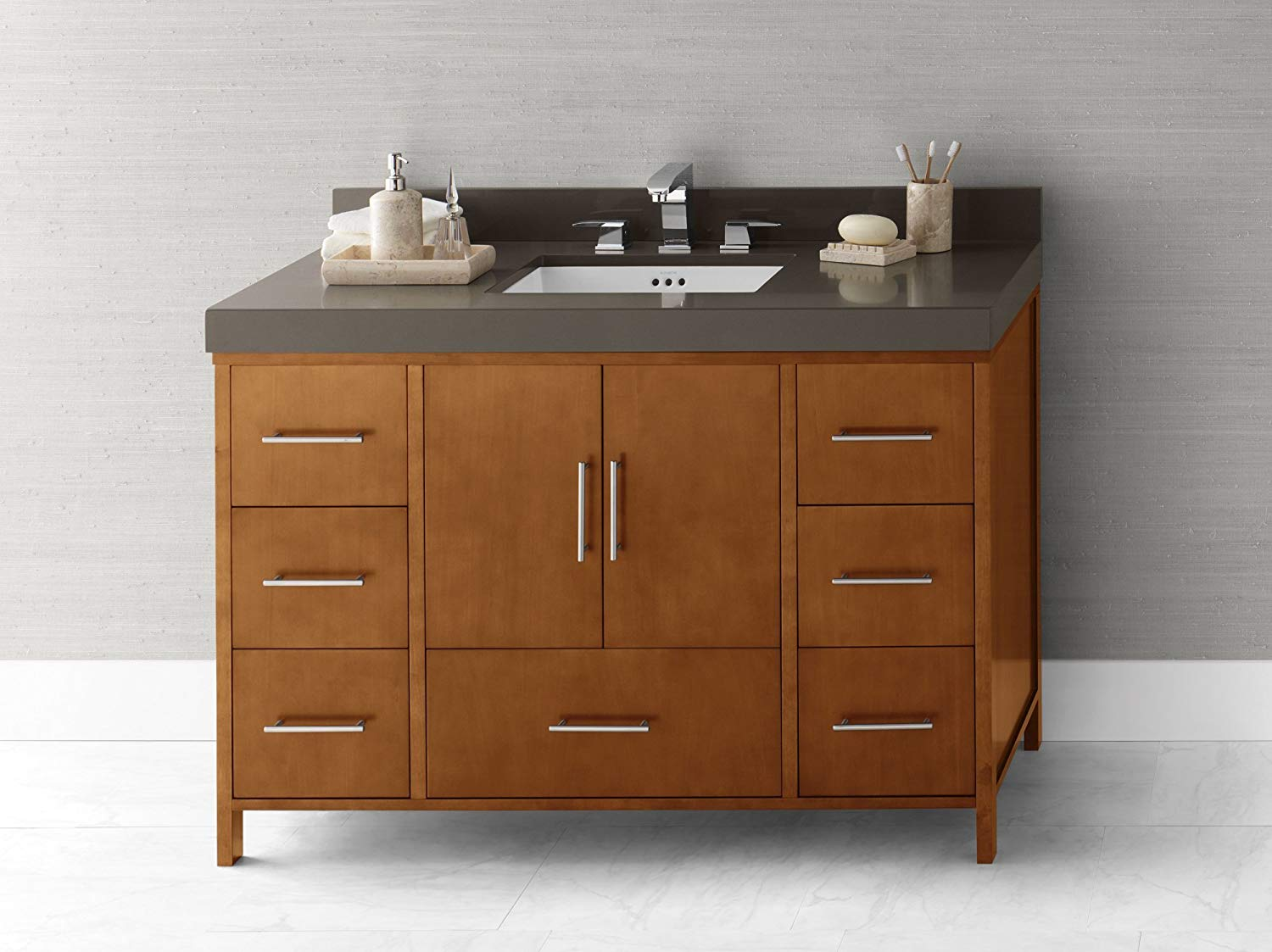 Buy RONBOW Juno 30 Inch Bathroom Vanity Base Cabinet with ...
