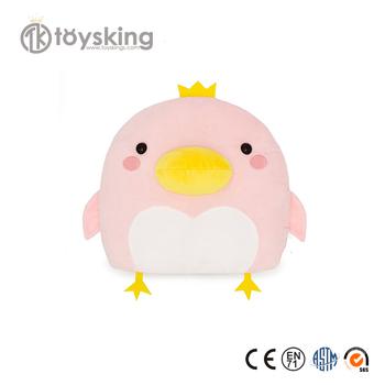 Cuddly Pink Small Chicken Hem Stuffed Plush Toys Custom With Plush Fabric  For Bulk Wholesale,Plush Chicken Emoji Toys - Buy Small Chicken  Toys,Chicken
