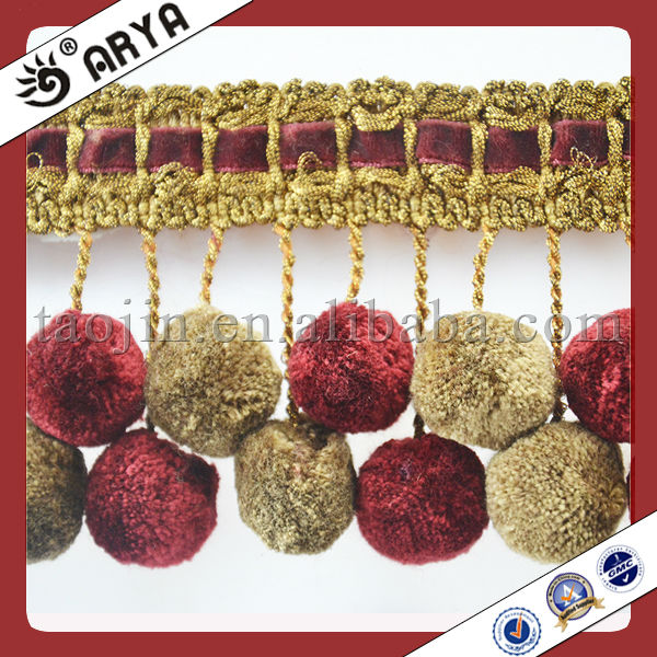 Pom Pom Trimming, Pom Pom Trimming Suppliers and Manufacturers at ...