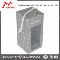 Custom printed cheap lighted outdoor christmas decorations gift boxes
