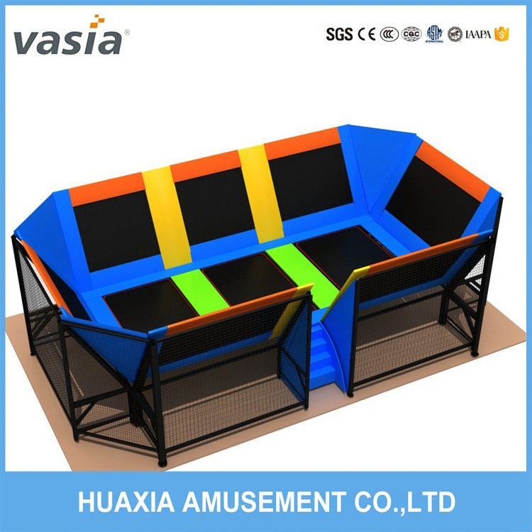 top selling lowest price indoor bungee trampoline amusement