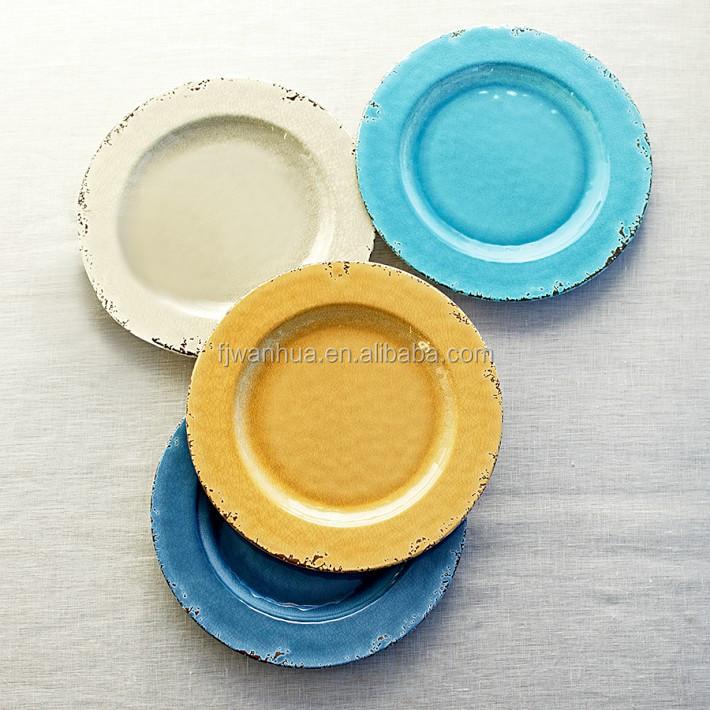 Rustic Melamine Dinner Plates - Buy Rustic Plate,Melamine Rustic ...