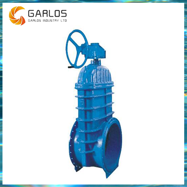 RVHX Bevel gear operated PN16 resilient seat gate valves