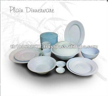 Light Color Durable Melamine Dinnerware