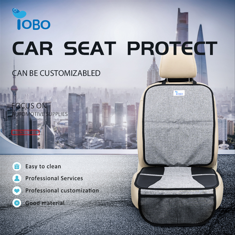 Oxford Non-slip Safe Durable Back Reinforced with Thick Padding Auto Waterproof Child Baby Car Seat Protector For Car Suv Trunk