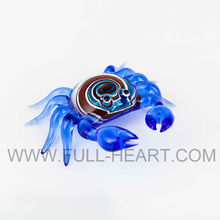 pretty animal figurine decorations animal figurine murano glass animal figurines small glass crab