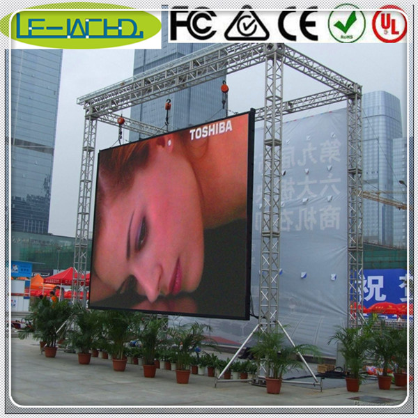 smd2121 module outdoor advertising video display screen stadium led scree/panel/sign