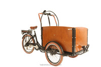 2016 new model bakfiets three wheel tricycle electric cargo bike/cargo bicycle