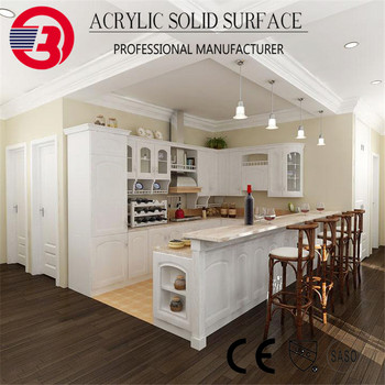 Royal Quality Modified Acrylic Staron Solid Surface Countertops