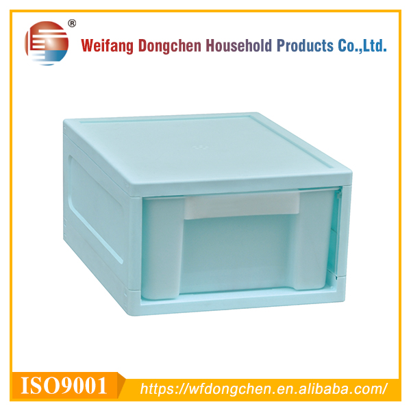 Portable PP Plastic Storage Cabinet Drawers