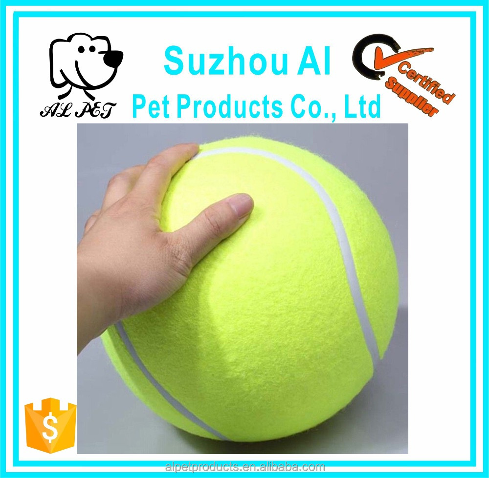Giant Inflatable Tennis Dog Training Ball Toy