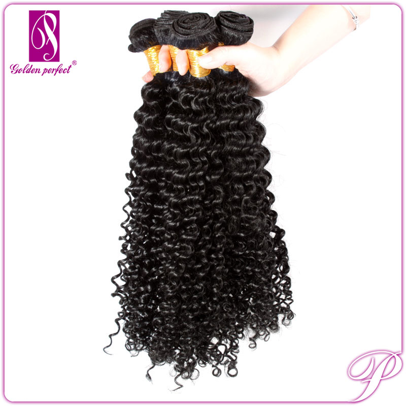 Fashion Afro Remy Kinky Curly Ponytail Weave Extensions Raw Virgin Indian Hair