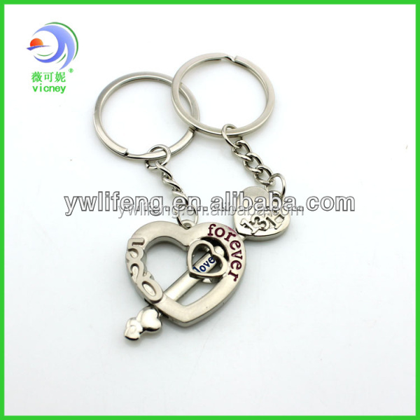 Customized Logo for Lover Keyholder