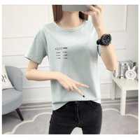 Hot Selling Custom 160g Soft Cotton Sublimation Summer Style Plain Fashion Trend Women Casual sexy transparent t shirt for women