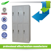 6 door steel staff locker cabinet / gym lockers