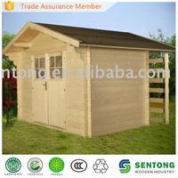 wooden garden storage house