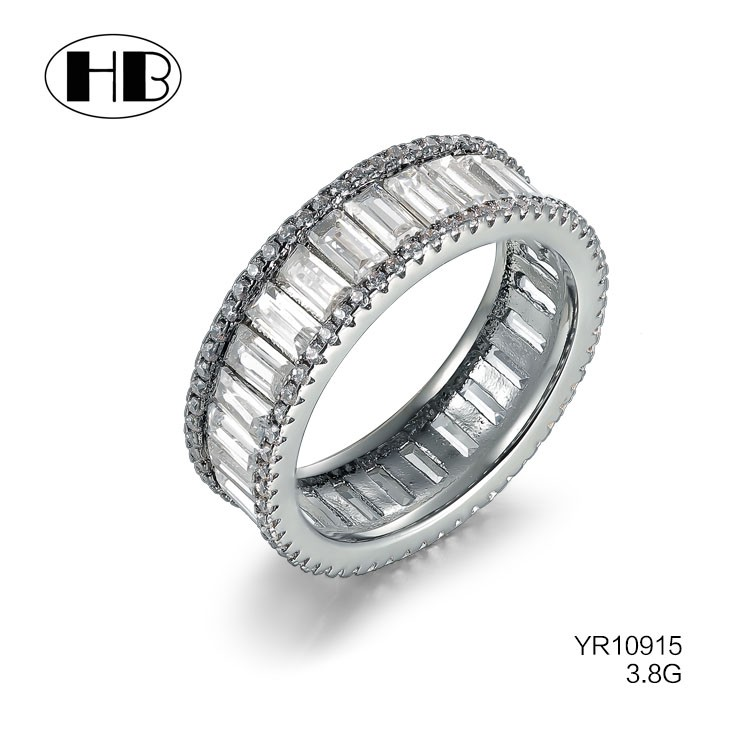 New Style Ring Silver Women,Pave Diamond Ring,Newest Design Couple ...