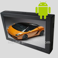 Lcd android taxi advertising player wifi/3g, Innovative advertising media