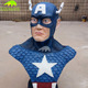 KANOSAUR0163 Fiberglass American captain bust sculpture for collection