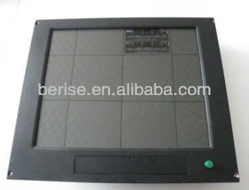 17inch rugged display for marine equipment