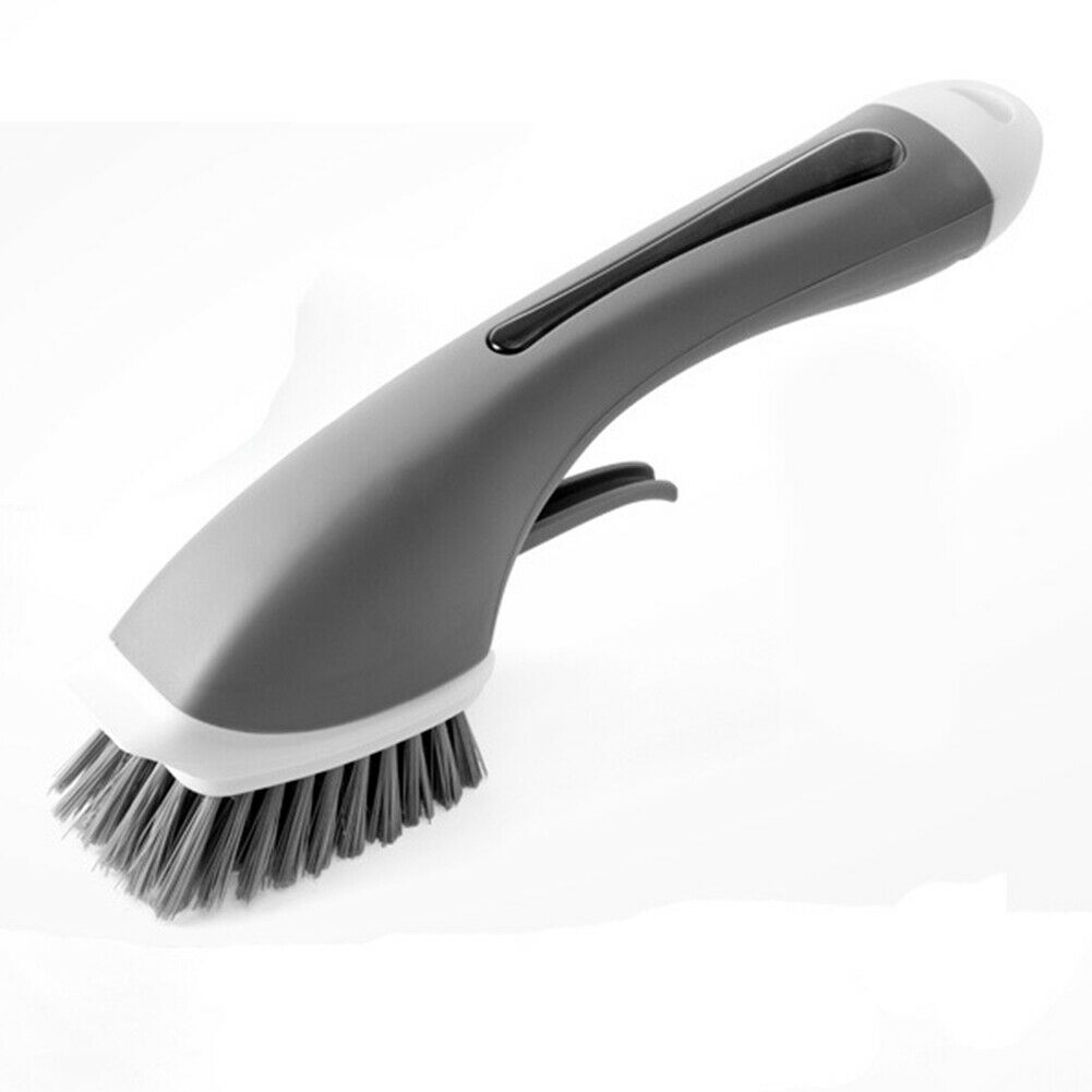 Kitchen Scrubber Liquid Dish Brush With Soap Dispensing