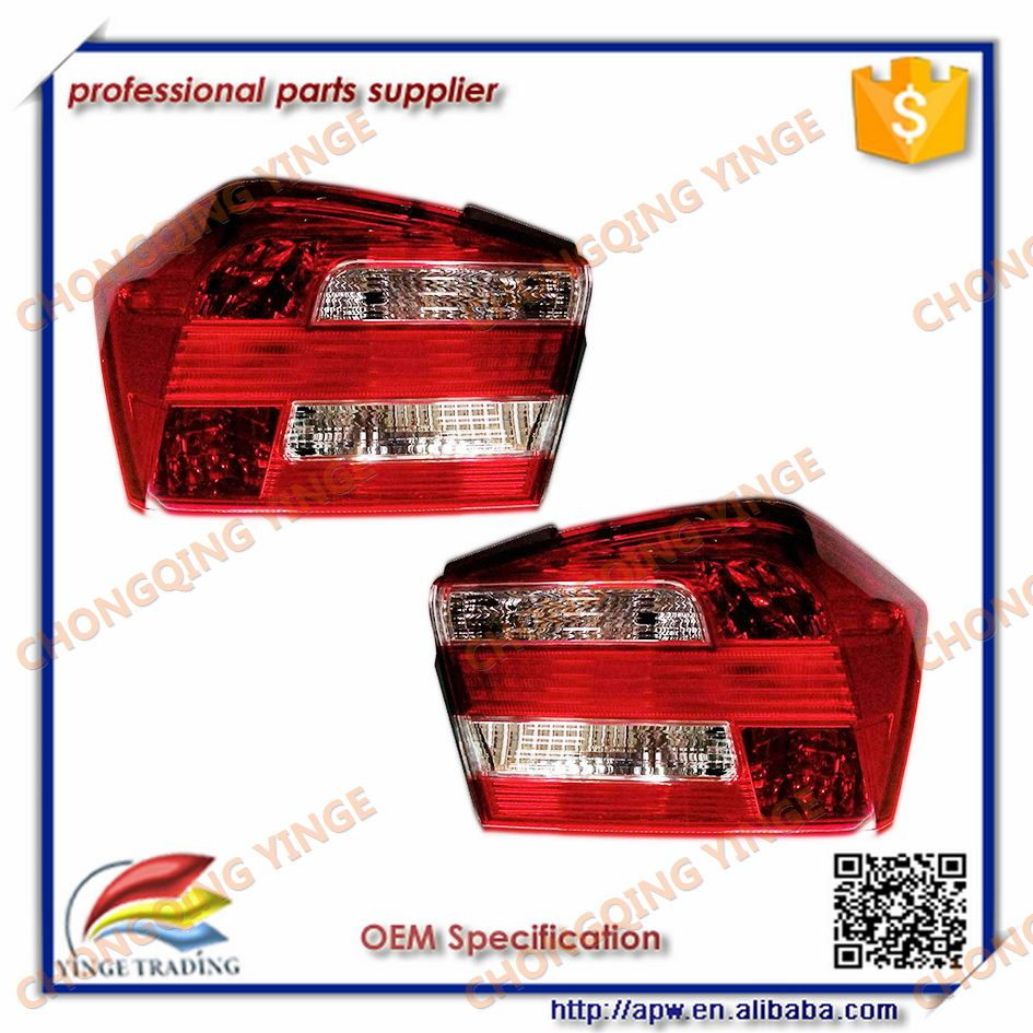 Professional Lamp for HONDA Car Lights City 2012 Red Tail Light