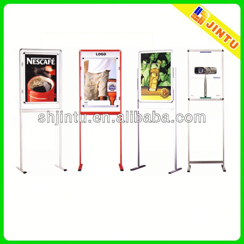 mini order a3 poster display stand with uv or digital printing