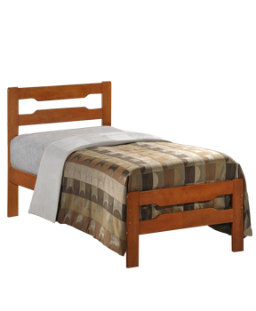 W B 5031 Simple Design Pine Wood Single Beds For Sale