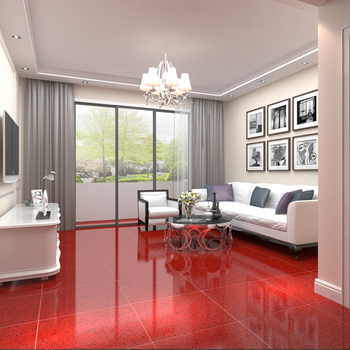 Hljn No Grout Non Slippery Solid Color Polished Porcelain Floor - Are porcelain floor tiles slippery