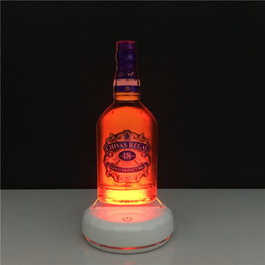 Acrylic LED Edge Lit Neon Bar Sign for Chivas Regal 18 Year Bottle