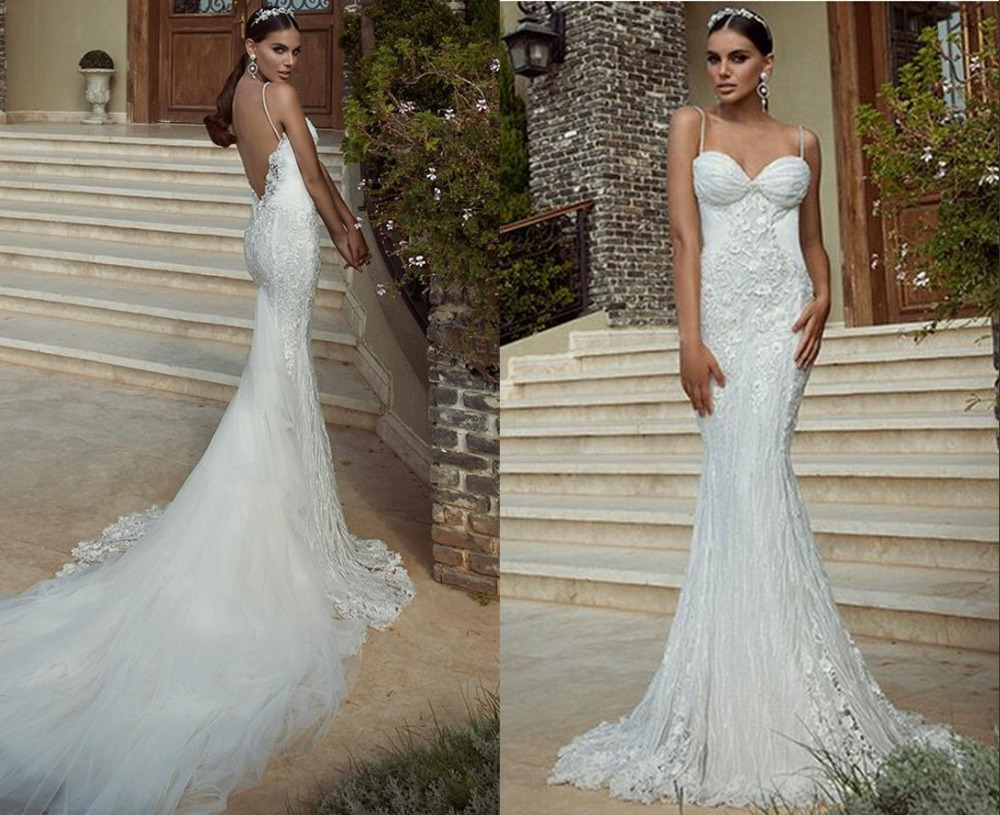 2015-Summer-Wedding-Dresses-Mermaid-Lace-appliques