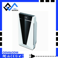 Activated charcoal air purifier,green uv air purifier ionizer dust collector for home