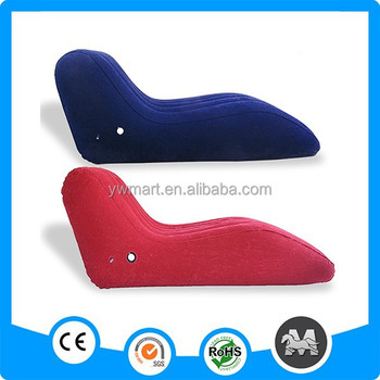 Merveilleux S Shaped Single Padded Pvc Inflatable Chair And Sofa