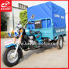 3 wheel gasoline trike motorcycle tuk tuk 250cc automatic motorcycle with half closed cabin