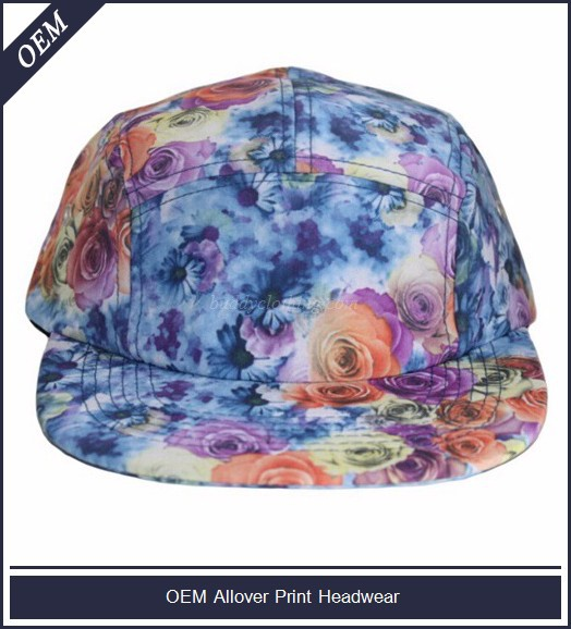 Headwear, 5 panel cap and hat, 5 panel snapback cap and hat factory