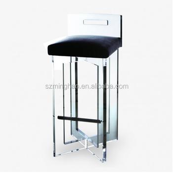 Elegant Lucite Bar Stool,Acrylic Bar Stool High Chair   Buy Clear Lucite  Acrylic Bar Stool,Clear Acrylic Bar Stools With Footrest,Acrylic High Top  Bar ...
