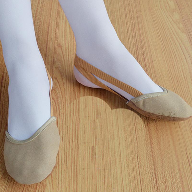 rhythmic gymnastics half toe shoes