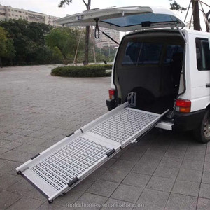 aluminium ladder Manual folding ramp or Manual Wheelchair Ramps for disabled and elder