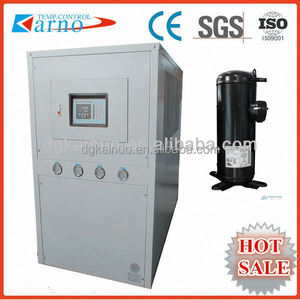 (A) Control panel scroll industry water chiller