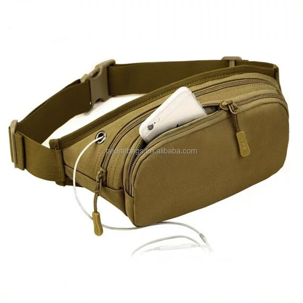 Waterproof Hip Belt Military Fanny Pack Tactical Waist Bag Pack