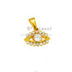Olivia Wholesale Cz Stone Inlay Gold Jewelry Evil Eye Zircon Pendant For Woman Accessory