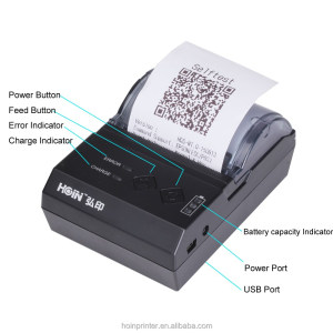 Handheld Windows Bluetooth Printer 58mm Mobile Pos Terminal With Printer