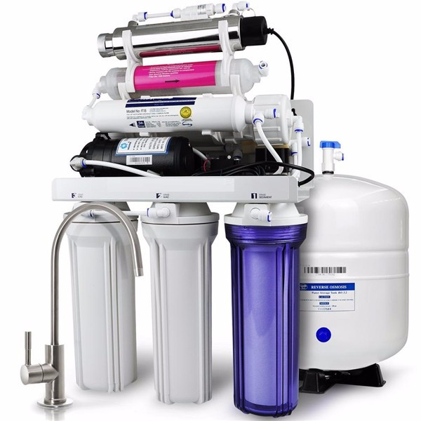 5/6/7 stage water system ro water purifier reverse osmosis stand water filter with UV