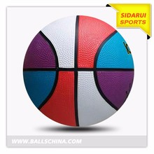 Hot sale cheap advertising promotional Custom rubber basketballs