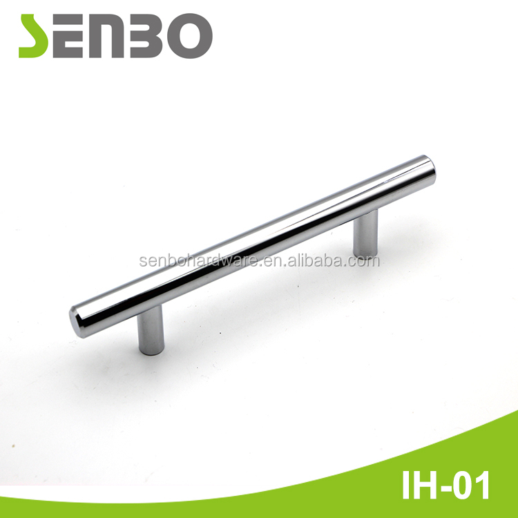 European Style High Quality Stainless Steel T Bar Kitchen Cabinet Door Handles