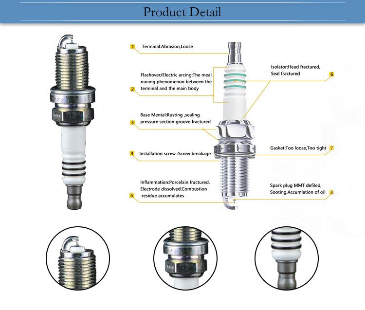 Wholesale Cheap Single Iridium Japan Spark Plugs 3426 FK20HR11 In Guangzhou