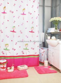 Flower Fairy Bathroom Set Shower Curtain With Bath Rug Sets Buy