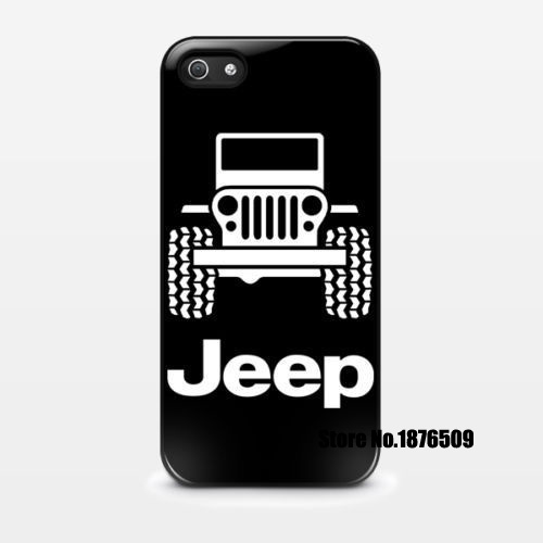 Jeep logo cell phone case