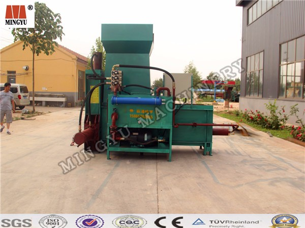 Alibaba high quality vertical hydraulic rice straw baler machine/cured hay baler/foin packer machinery